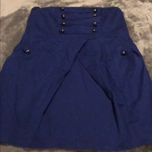 Dark Blue Sailor Dress w/Pockets Torrid 14